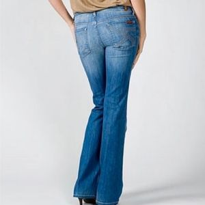 7 for all mankind Flynt ombre bootcut jeans
